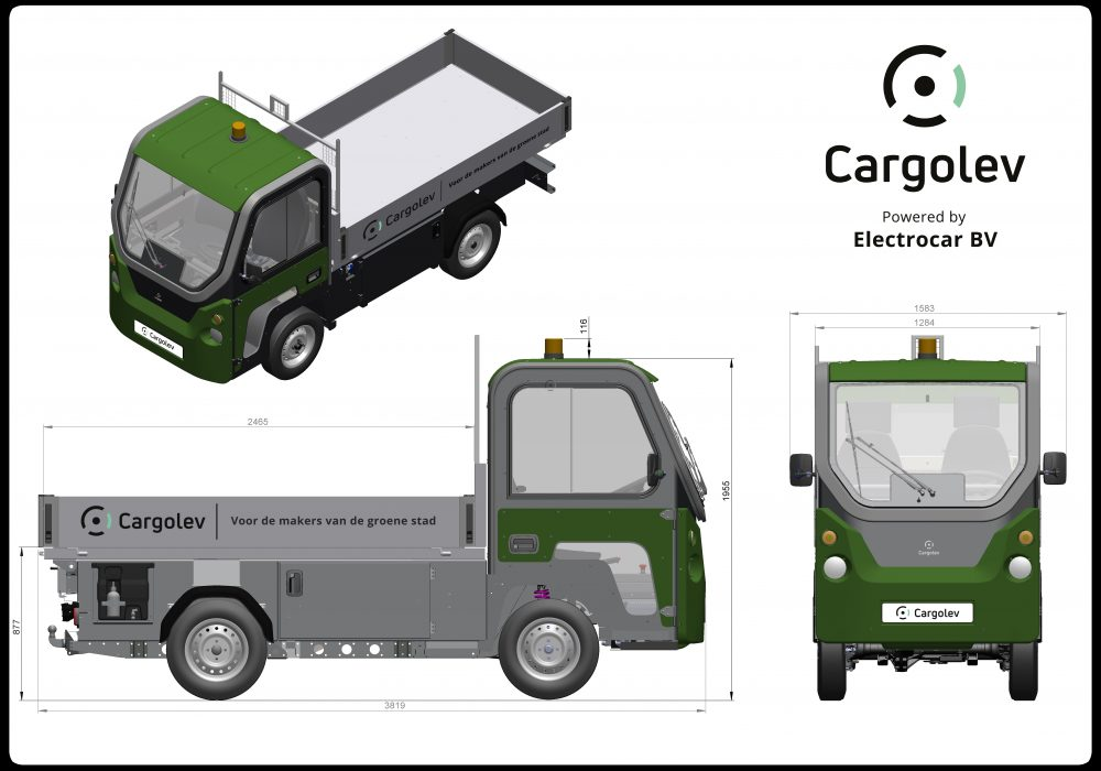 Cargolev TC Open Laadbak
