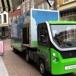 Cargolev licht elektrisch voertuig maakt Zutphen stiller en schoner